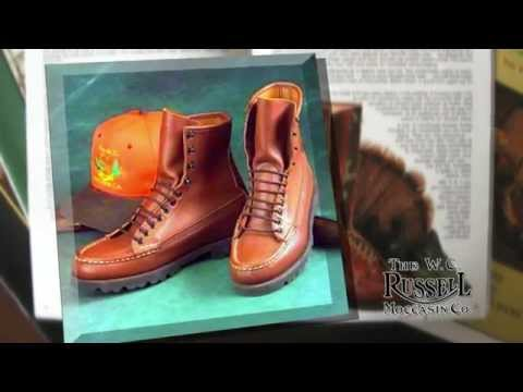 The WC Russell Moccassin Company Video