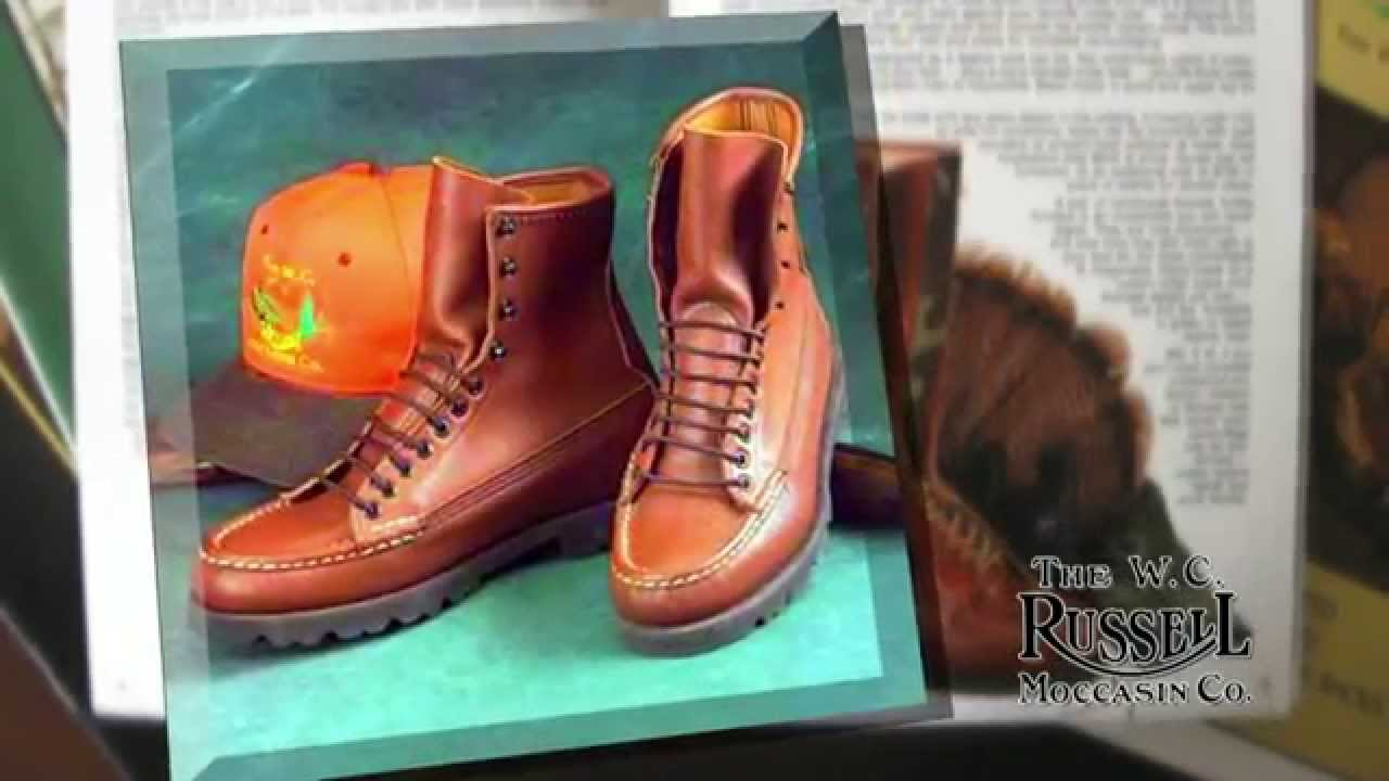 81bf24b1056 The WC Russell Moccassin Company Video
