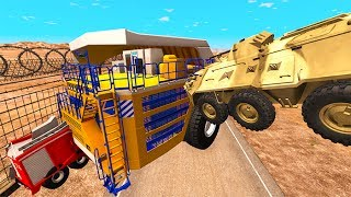 Belaz 75710 Heavy Car Destruction #9 BeamNG.drive