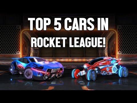 TOP 5 BEST CARS | Rocket League