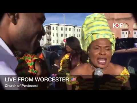 ALL GHANAIANS IN WORCESTER USA AS THEY TALK ABOUT CHRISTIANITY ABROAD