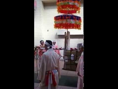 防府天満宮 花神子社参式2015年10月11日