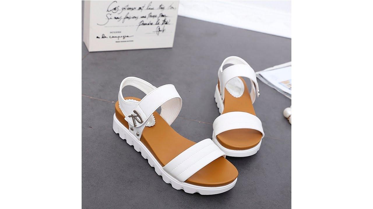 Женские кожаные сандали с AliExpress Unboxing