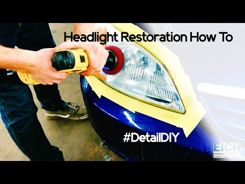 How To Clean Plastic Headlights