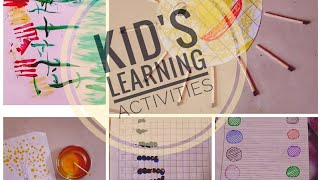 Kid's Learning | Home schooling activity | Lockdown special | Kid's video | Home-made