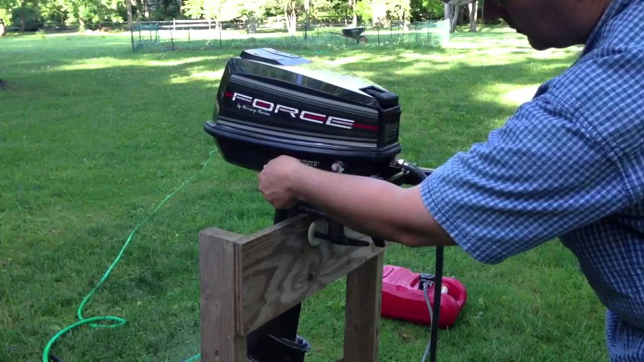 5hp Mercury Force Outboard Motor For