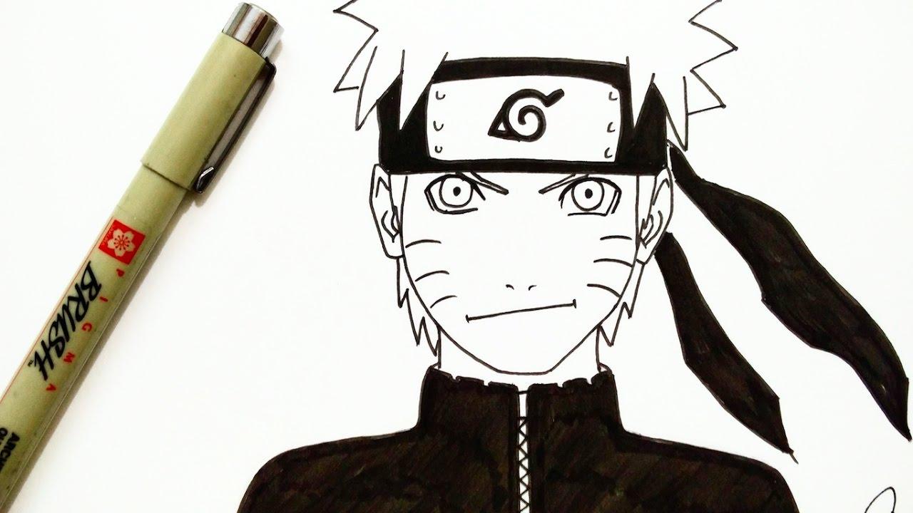 Drawing Naruto - YouTube