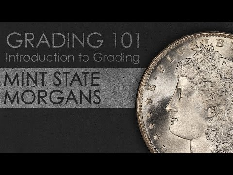 Grading Mint State Morgan Dollars: Introduction To Coin Grading