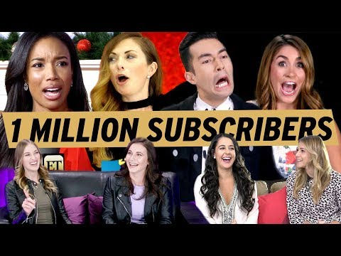 Download Youtube: Entertainment Tonight BLOOPERS - Thanks For 1 MILLION Subscribers!