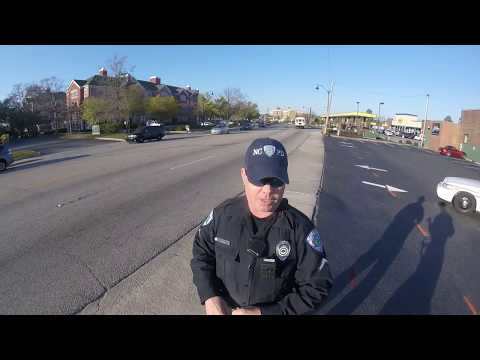 North Charleston police officer pulls over cyclist for riding in center of lane