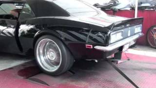 "68 Camaro LS-2 ""Evade"" Dyno w/ Stainlessworks Exhaust"
