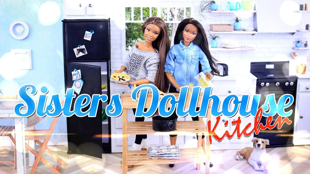 DIY   How To Make: Dollhouse Kitchen   Recycled Doll Crafts   4K   YouTube Part 56