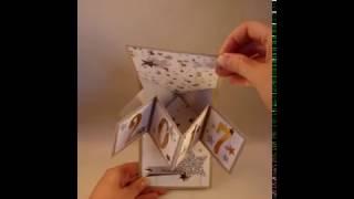 Carte Twist Pop Up Etoiles