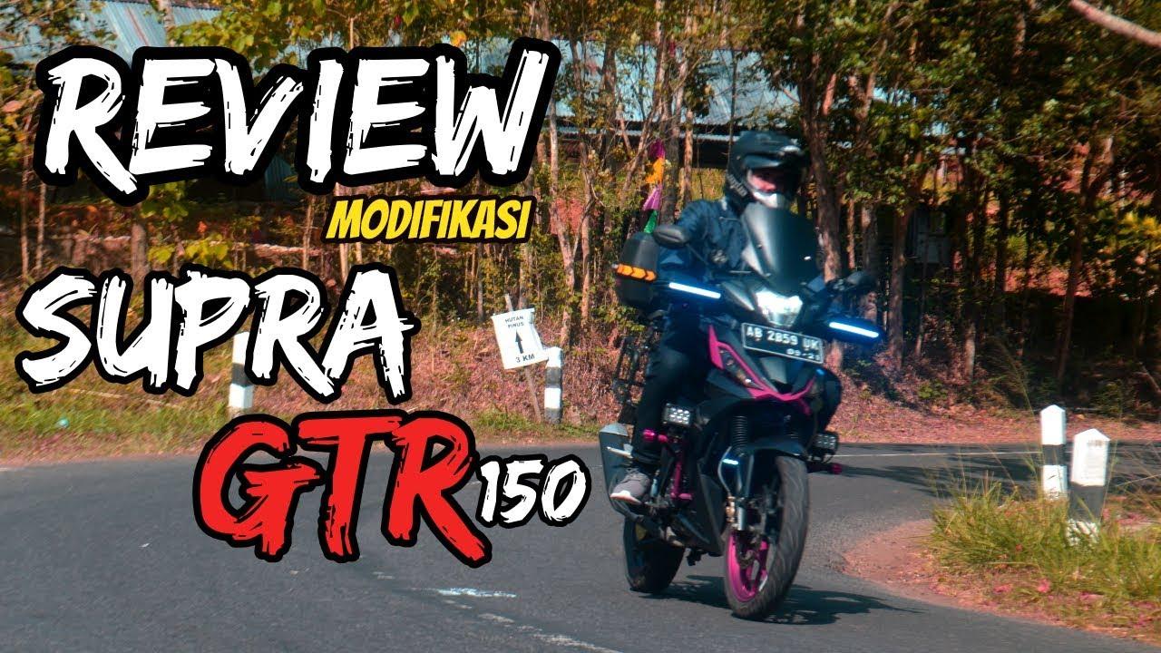 REVIEW MODIFIKASI HONDA SUPRA GTR 150 YouTube