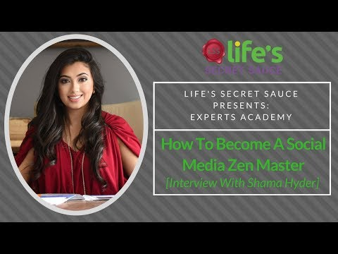 How To Become A Social Media Zen Master [Interview With Shama Hyder]