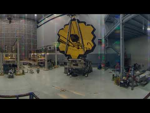 360 Video of NASA's Webb Telescope at NASA's Goddard Space Flight Center