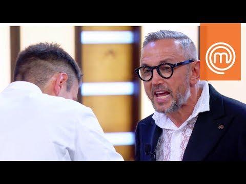 Barbieri dà a Simone della serpe | MasterChef Italia 7