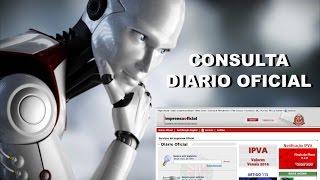 Diario Oficial - Consulta Automatizada