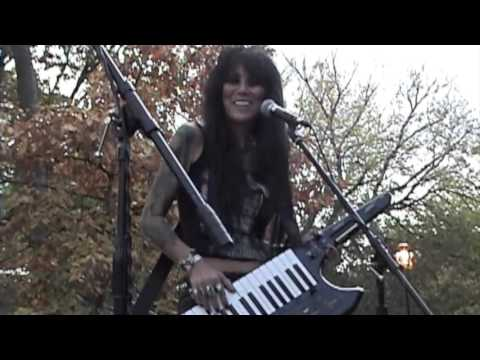 """BOBBY STEELE """"THE UNDEAD"""" at Tompkins Square Park """"Day of The Dead"""" November 1, 2015 TSP LES NYS"""