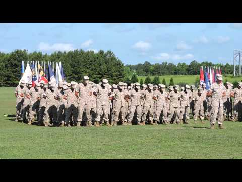Camp Geiger MCT - Kilo Company 7/1/14 Graduation - 1 of 2