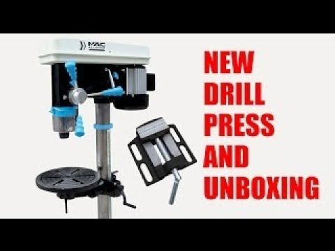 Mac Allister Sütunlu Matkap 700W / Mac Allister Drill Press Unboxing and Setup