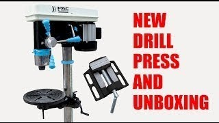 Mac Allister Sütunlu Matkap 700W Mac Allister Drill Press Unboxing and Setup
