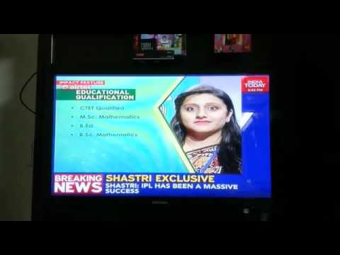 Impact feature on India Today