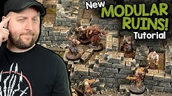 Building Modular Ruins For Dungeons & Dragons, Frostgrave, or Other Wargames!