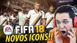 Fifa 18 novos icons/legends!!! 100% confirmados no jogo!!!