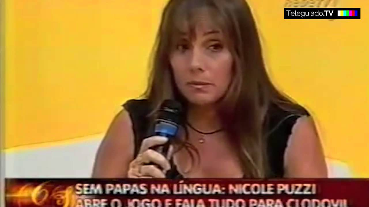 Clodovil x Nicole Puzzi - YouTube