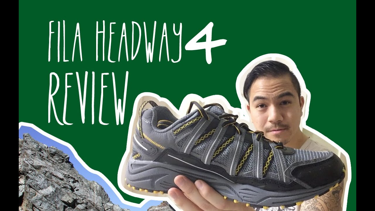 Fila Headway 4 Hiking Shoe Review