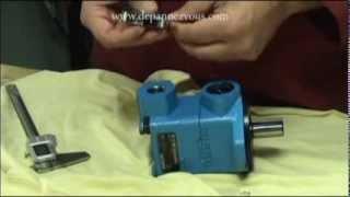 Hydraulique - Comment mesurer les orifices d'une pompe
