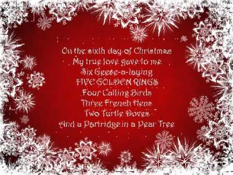 12 Days of Christmas by Reliant K with lyrics