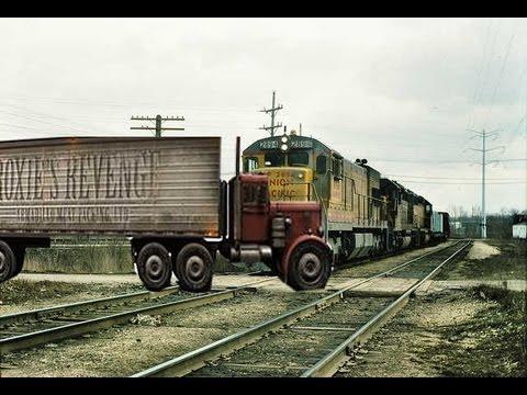 Train Crash Car Train Crashes Into Tru...