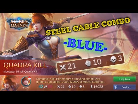 Mobile Legends [Fanny 21 Kill ~ Steel Cable Combo] - Indonesia