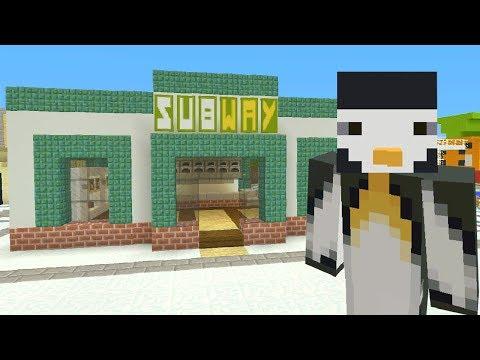 Minecraft Xbox: Subway [318]