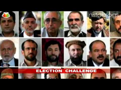 Afghan Presidential election challenge