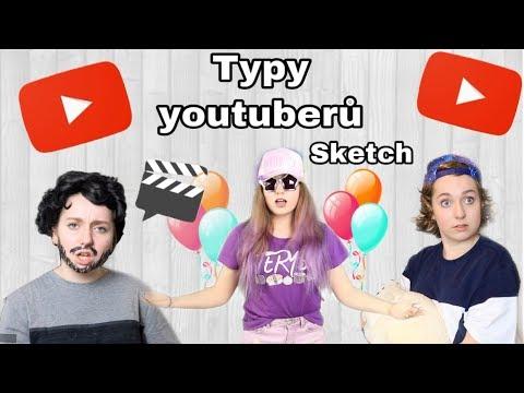 Typy youtuberů / sketch thumbnail