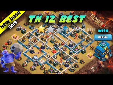 Best Th12 War Base 2019 Anti 1 Star 1