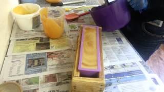 Making Hot Orange Danish soap | FuturePrimitive