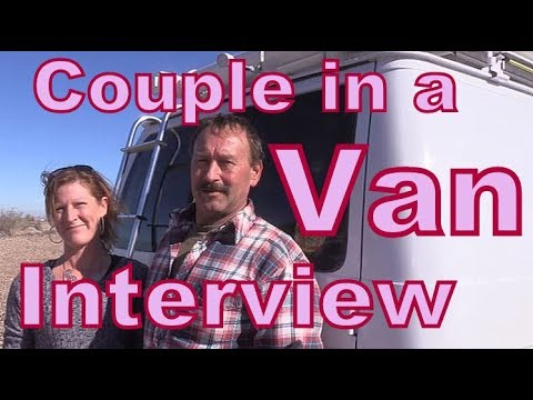 A Couple Living in A Van: Interview