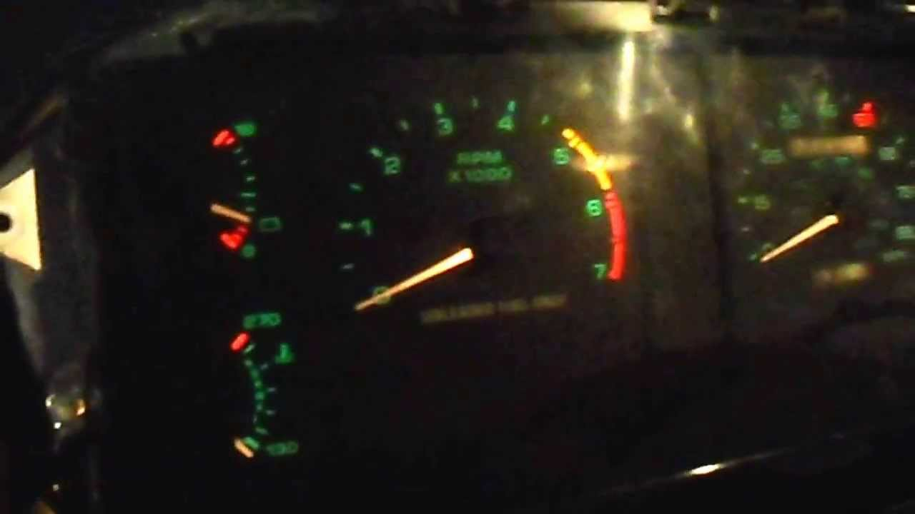 Ford Ranger Dash Lights Out