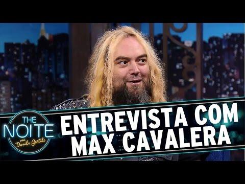 The Noite (06/04/16) - Entrevista Com Max Cavalera