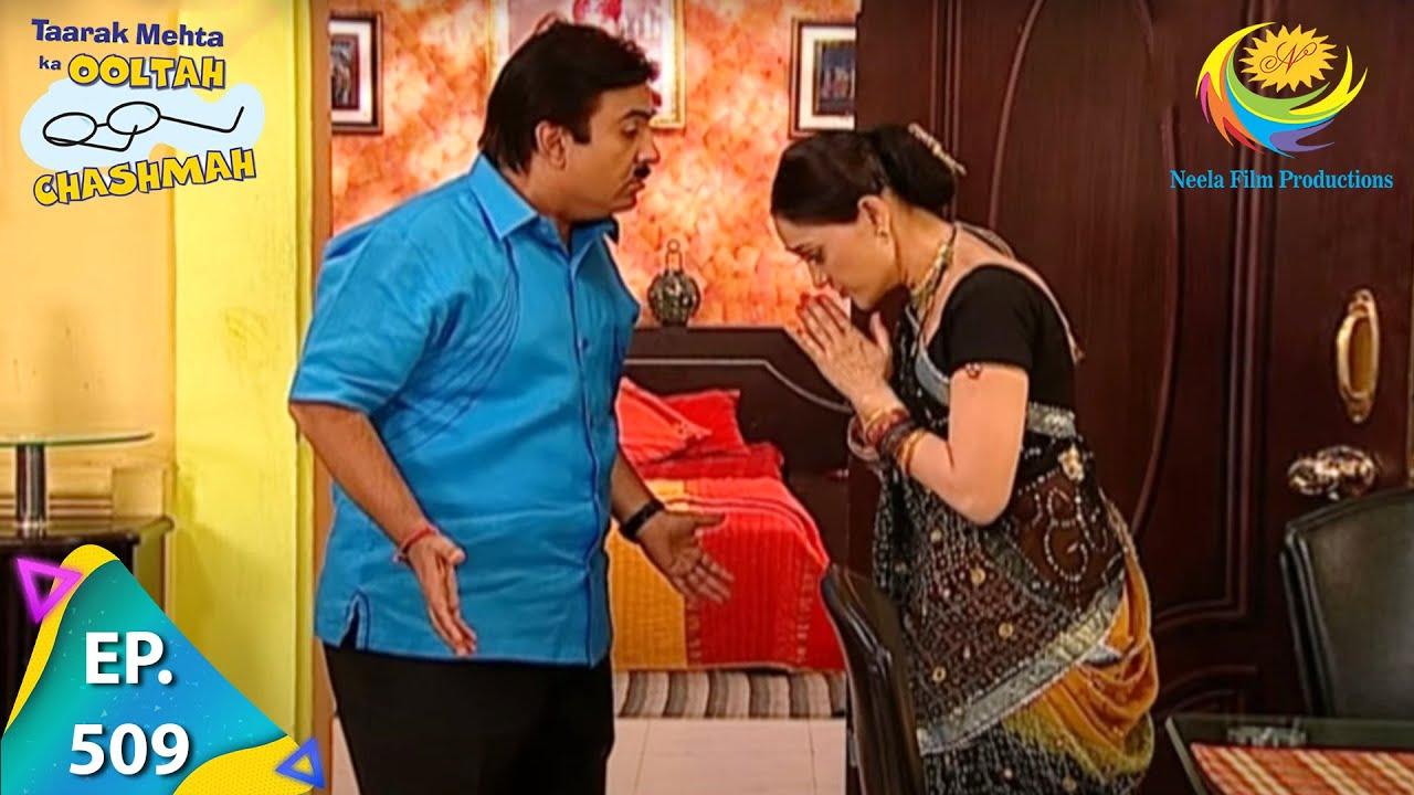 Download Taarak Mehta Ka Ooltah Chashmah - Episode 509 - Full Episode