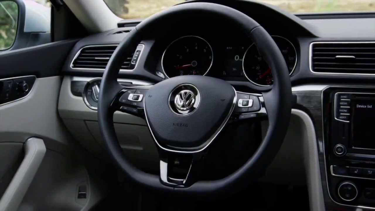 2016 volkswagen passat interior design automototv youtube. Black Bedroom Furniture Sets. Home Design Ideas