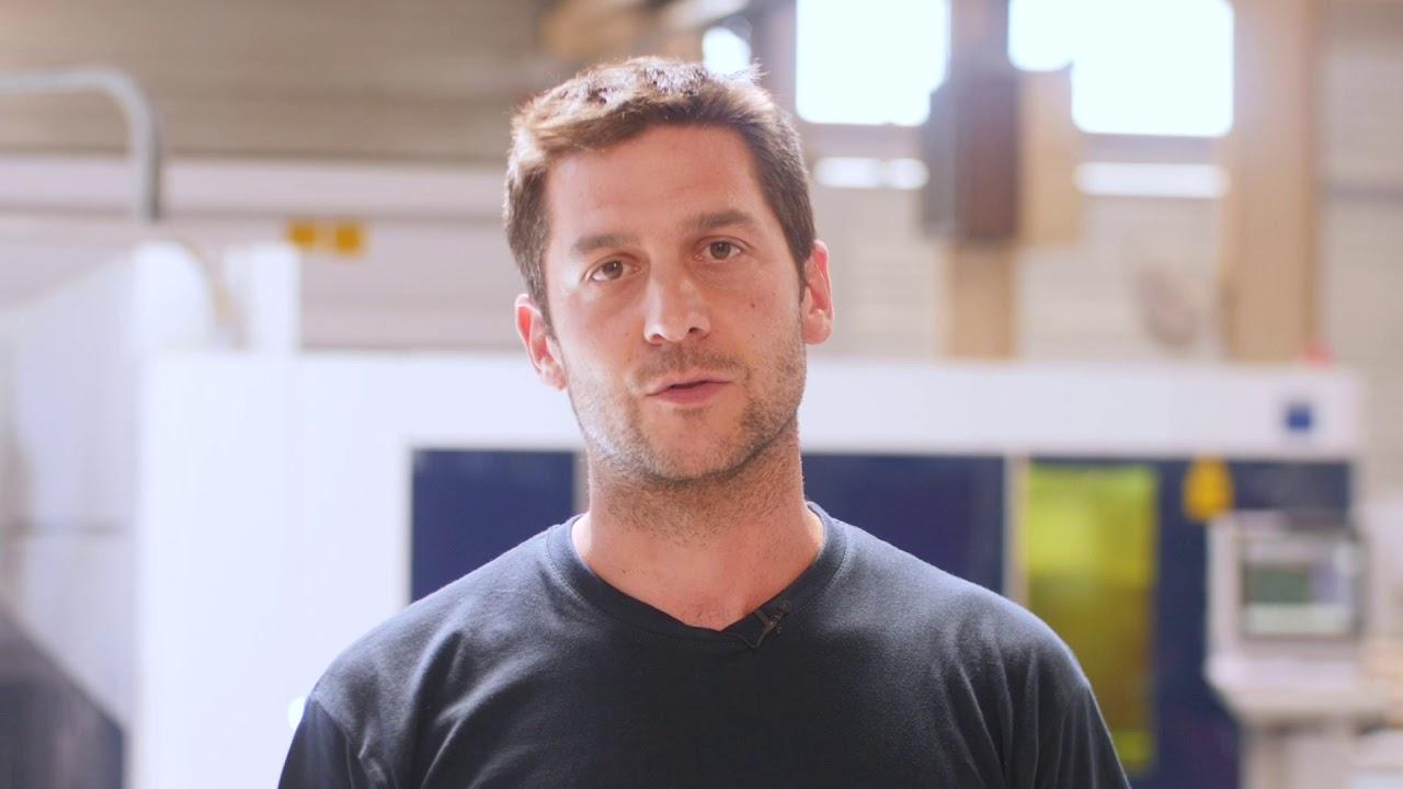Lien vers la vidéo : <p>Rencontre avec Nicolas Lemoine, chargé d'affaires chez Béguet</p>