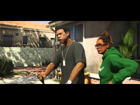 Grand Theft Auto V - Michael,Franklin,Trevor - Trailer
