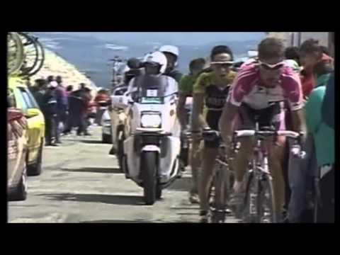 Pantani - Armstrong - Mont Ventoux 2000