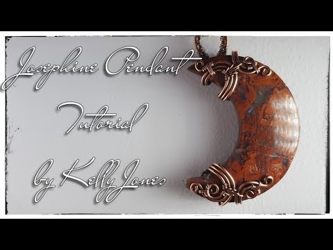 Josephine Pendant Tutorial (a Variation Of My London Pendant).
