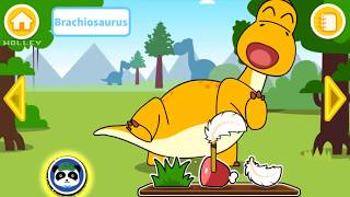 Kids Learn About Dinosaurs with Baby Panda - Jurassic World Educational Game For Children By BabyBus